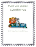 Plant and Animal Classification Mini Project