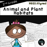 Plant and Animal Habitats-NGSS Life Science Lesson (Second Grade-2-LS4-1)