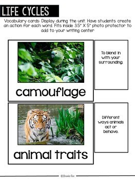 Plant and Animal Life Cycle Pack