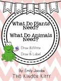 Plant and Animal Needs: Writing