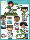 Plant and Bug Science Clip Art