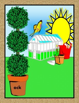 Plant and Grow Word Family Trees