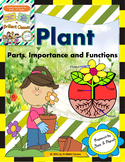 Plant and its Parts - Unit with Worksheets / Activities