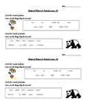 Ecosystem assessment - Plant & animal needs