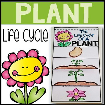 Plant life cycle flip book by AisforAdventuresofHomeschool ...