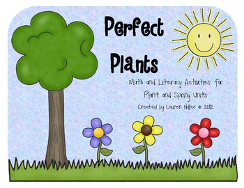 Plant {life cycle, parts, needs, math and literacy activities}