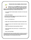 Plant life cycle procedural text