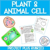 Plant or Animal Cell Project Description PLUS Rubric