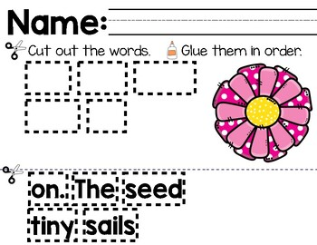 Plant the Tiny Seed Mentor Sentence