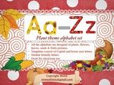 Plant Theme Alphabet Set