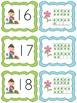 Plant themed ten frame matching math game