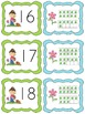 Plant themed ten frame matching math game