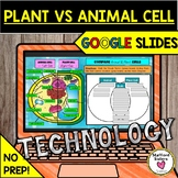 Plant vs Animal Cell Activity in Google Slides DISTANCE LEARNING