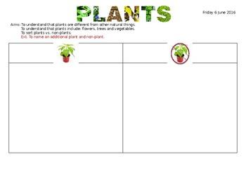 Plant vs Non-Plants