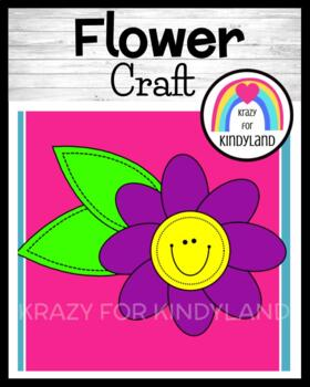 Spring, Summer Craft for Kindergarten: Flower