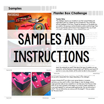 Planter Box STEM Challenge