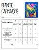 Printemps: Plante carnivore 3D, trois dimensions, français, arts plastiques