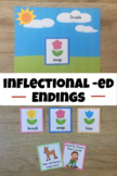 -ed endings to short vowel words -  Planting Flowers