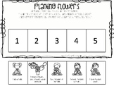 Planting Flowers Sequencing Activity for Speech Therapy