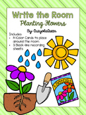 Planting Flowers Write the Room