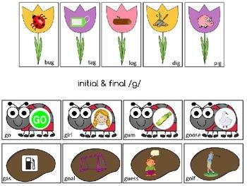 Garden Articulation Sensory Bin: Flowers, Seeds, and Bugs