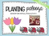 Spring Garden Articulation Sensory Bin: Flowers, Seeds, and Bugs