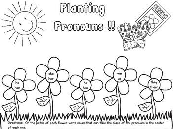 Planting Pronouns
