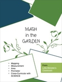 Planting Seeds & Math (Area, Mapping, Perimeter) Cross Curricular