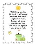Planting Seeds Poem Freebie