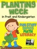 Planting Week in PreK and Kindergarten