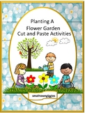Spring Activities Kindergarten Math and Literacy Cut and Paste Worksheets Autism