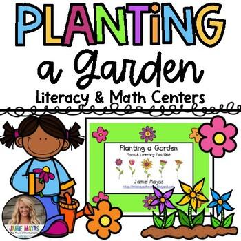 Planting a Garden Math & Literacy Mini Unit