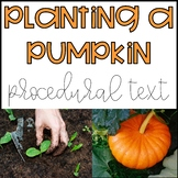 Procedural Text Planting a Pumpkin