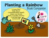 Planting a Rainbow: Speech and Language Book Companion