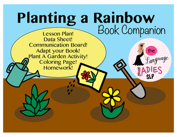 Planting a Rainbow: Speech and Language Book Companion