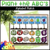 Planting the ABC's Vegetable Alphabet Garden