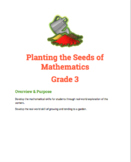 Planting the Seeds of Mathematics Grade 3 Full Year