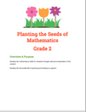 Planting the seeds of Mathematics Grade 2