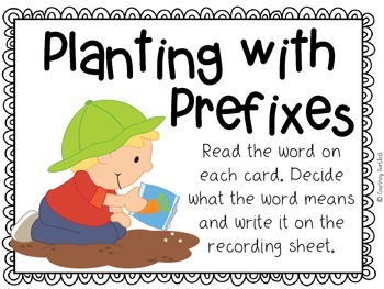 Planting with Prefixes