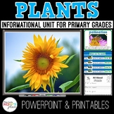 Plants Unit with PowerPoint, Writing Materials, and More!