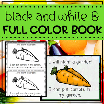 Plants- Two Emergent Reader Mini Books and Class Big Book