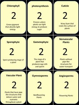 Plants Trivia Game