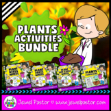 Plants Activities BUNDLE (PowerPoint, Crafts and Science Printables)