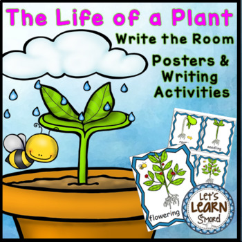Plants Life Cycle Write the Room Posters Writing Activities For Plant Unit