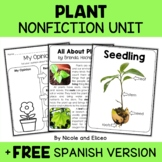 Nonfiction Unit - Plant Activities
