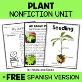Plant Activities Nonfiction Unit