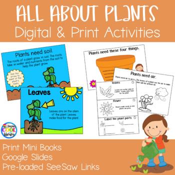 Plants Mini Books