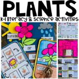 Plants Activities, Science AND Literacy Centers and Crafts