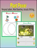 Plant Unit (24 Printable Pages)