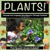 Plants An Early Primary Thematic Unit - ESL and ELL Newcomers Too!